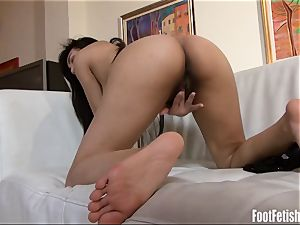 Amber Snow foot Fetish masturbation