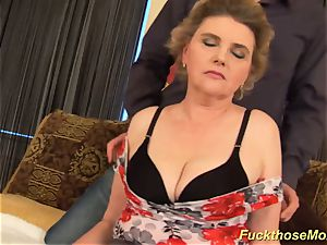 obese fur covered mom gets mischievous pounded