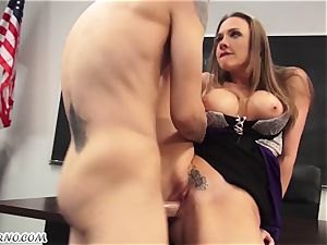 My naughty intercourse professor Chanel Preston smashes me in the classroom