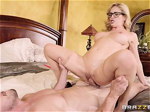 super-naughty light-haired Cherie Deville ravaged doggie-style