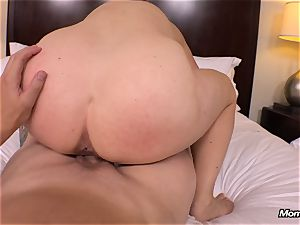 big congenital bra-stuffers mummy gets hard-core fucking
