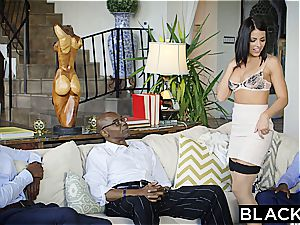 BLACKED brunette Adriana Chechik Takes 3 of BBCs