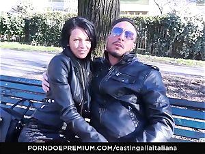 audition ALLA ITALIANA - mischievous fucky-fucky with local fledgling