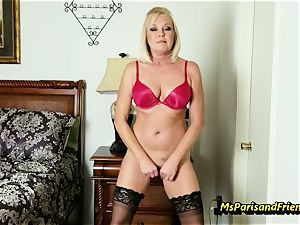 pack Up the Strippers gaping labia with Ms Paris Rose