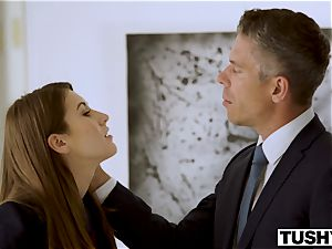 TUSHY assistant Makes Her boss Work For buttfuck