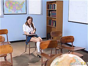 Darling schoolgirl Dillion Harper gets banged by her instructor