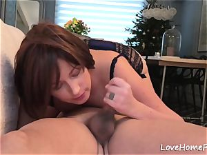 wife blown His rock-hard wood In A Sixty 9