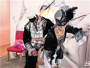 crazy INLAWS - filthy Halloween bang with Shrima Malati