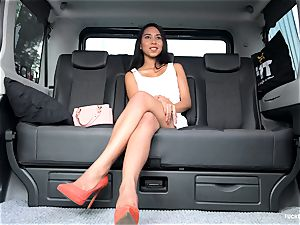 banged IN TRAFFIC - steaming car pound with Indonesian stunner