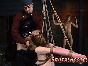 restrain bondage jaws slammed gagged and bondage & discipline domme hardcore beautiful young nymphs, Alexa Nova and