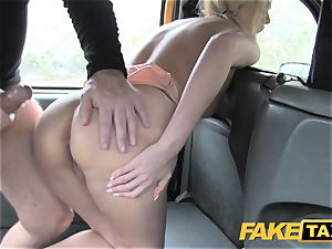 faux taxi magnificent mum with phat bumpers gargles lollipop