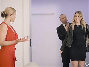 Sarah Vandella and Giselle Palmer share boner