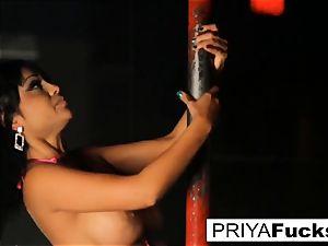 disrobe club performance by Indian beauty Priya Rai