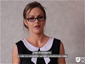 porn ACADEMIE - brit Tina Kay warm rectal in threeway