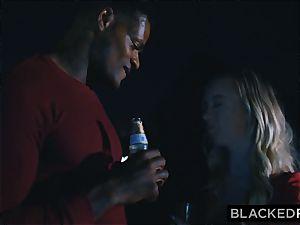 BLACKEDRAW boyfriend with hotwife fantasy shares his blonde girlfriend