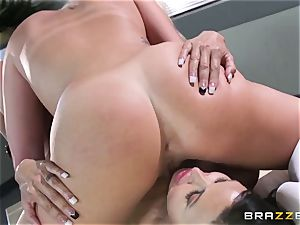 young college gal gets plowed by the teacher clitties Jade with enormous hooters