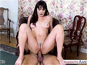 brown-haired wifey Dana DeArmond take pecker
