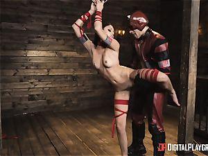 nasty superhero hump with Ariana Marie and Xander Corvus
