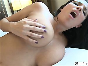 Anissa Kate showing her ample congenital baps in Public