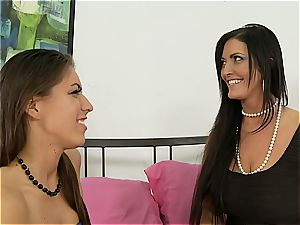Sammy Brooks instructs her daughter how to do oral jobs