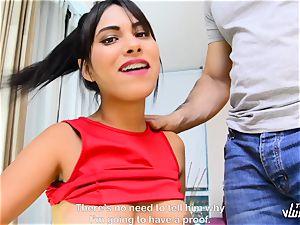 TU VENGANZA - insane revenge pummel with curvy Colombian