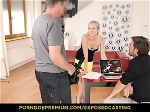 unsheathed audition - curvy stunner fuck-fest mastery test in casting