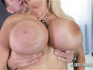 yam-sized funbag cougar Alura Jenson enjoys plumbing younger fellows