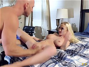 Madison Scott drilling for her husbands elevate