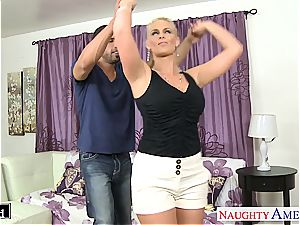 blondie stunner Phoenix Marie take rod