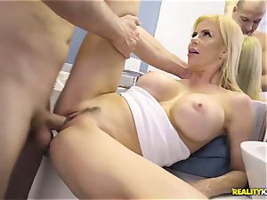 impressive hump with kinky yam-sized baps milf Alexis Fawx and her stepson