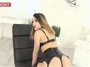 fabulous Latina gets hard-core assfuck intercourse from giant boner boy