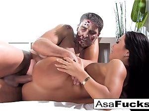Asa's Zombie ass fucking creampie