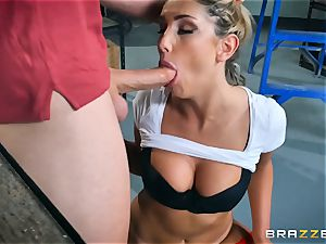 eating out the pussy of August Ames