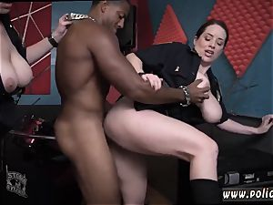 warm mummy fake penis getting off wet flick captures officer poking a deadbeat dad.