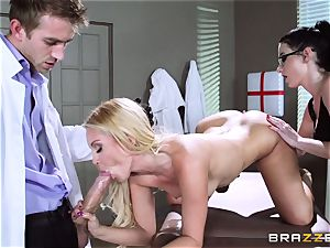 Aaliyah enjoy and Veruca James get kinky at the surgery