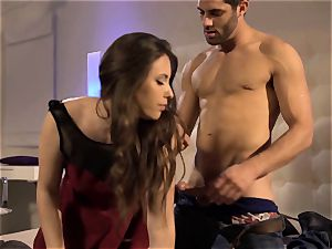 Chanel Preston watches Casey Calvert get her fill