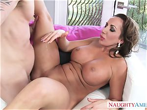 super hot mature chick Richelle Ryan seduces her kinky stepson