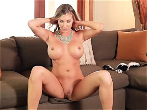 pussy messing solo with Samantha Saint