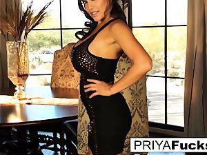 Dining apartment joy with fabulous Priya Rai
