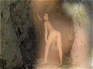 Spelunking with Shalina
