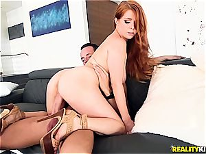 Penny Pax bosom is used for target experience