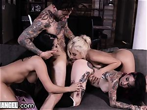 Joanna Angel's Craziest ass-fuck ravages and DP's Comp!