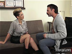 TOUGHLOVEX Della Dane makes a visit to physician Karl