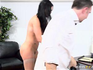 spunk-pump gagging british honey Jasmine Jae poked in her caboose