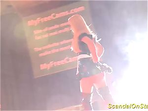 super-steamy stepmom striptease on stage
