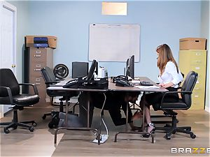 dirty office babe Dillion Harper gets shafted at work