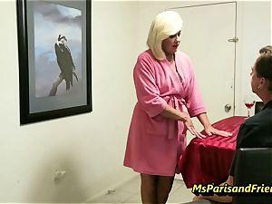 smashing the Boss's wifey with Ms Paris Rose