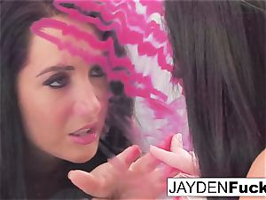 Jayden decides To have fun With Her awesome poon