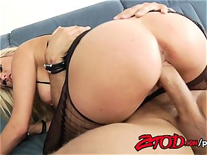 Laura Crystal Crotchless internal ejaculation