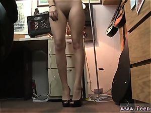 student fledgling ravaged in her favorite pair of heels!